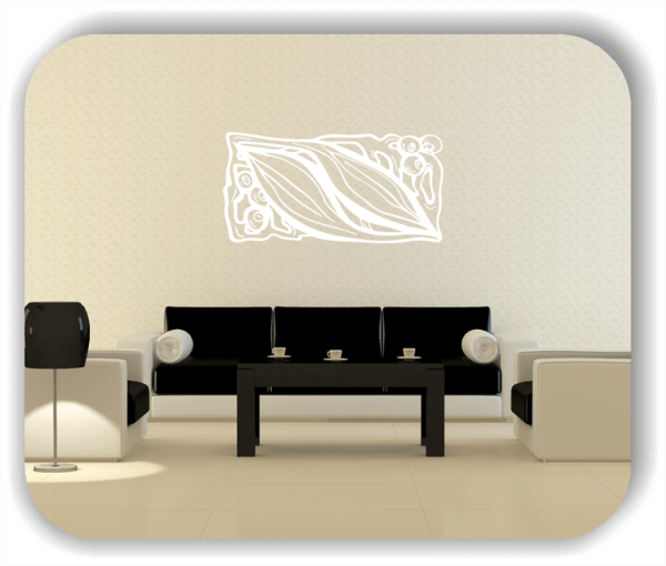 Wandtattoo - Natur Ornamente - ab 50 x 25 cm - Motiv 70