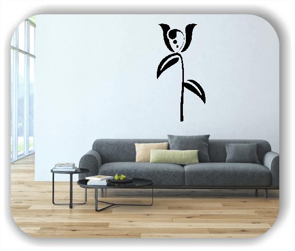 Wandtattoo - Schnittblumen - ab 25x50 cm - Motiv 9027