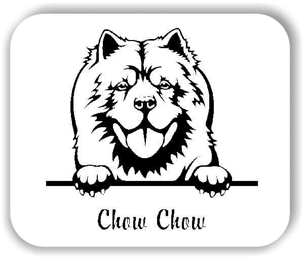 Wandtattoo - Hunde - Chow Chow