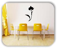 Wandtattoo - Schnittblumen - ab 32x50 cm - Motiv 9037