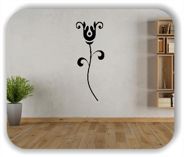 Wandtattoo - Schnittblumen - ab 18x50 cm - Motiv 9003