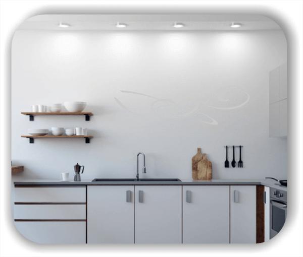 ❤ Wandtattoo ❤ Schnörkel Design - ab 60 x 18 cm - Motiv 03