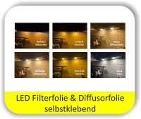 LED Warmlichtfilter Potpourri Gelb - LED Filterfolien
