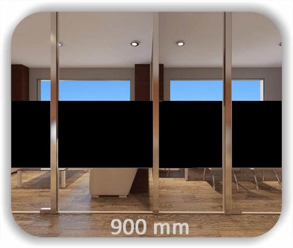 Durchlaufschutz Folie - Uni Farbig - Höhe: 90 cm - Streifen