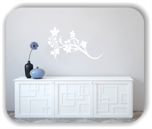 Wandtattoo - China Floral - ab 50x30 cm - Motiv 3125
