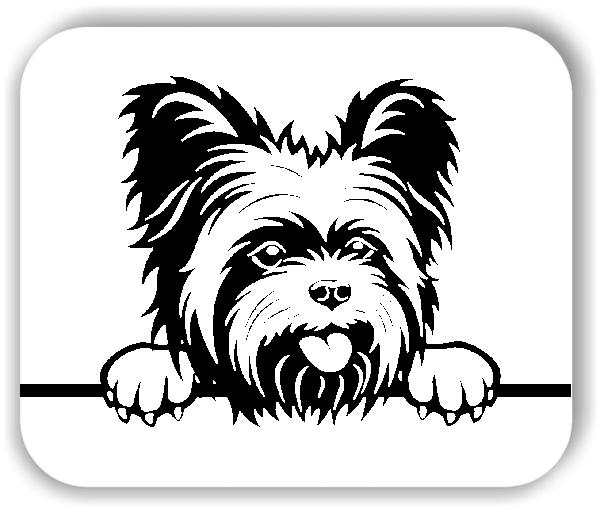 Wandtattoo - Hunde - Yorkshire Terrier Variante 3 - ohne Rassename