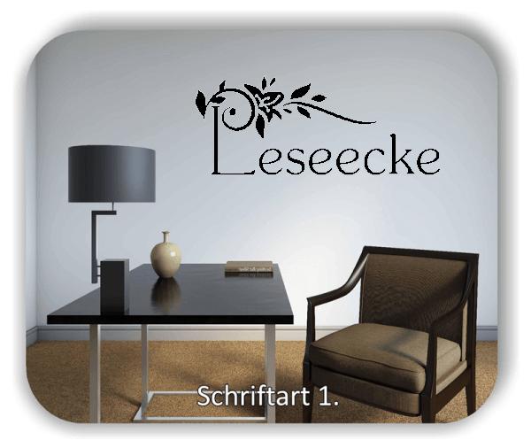 Wandtattoo - Leseecke