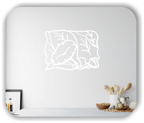 Wandtattoo - Natur Ornamente - ab 60 x 43 cm - Motiv 13