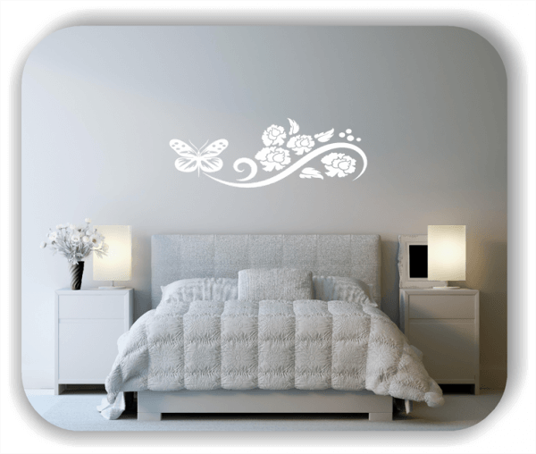 Wandtattoo - China Floral - ab 50x17 cm - Motiv 3108