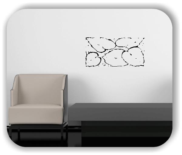 Wandtattoo - Natur Ornamente - ab 50 x 25 cm - Motiv 84