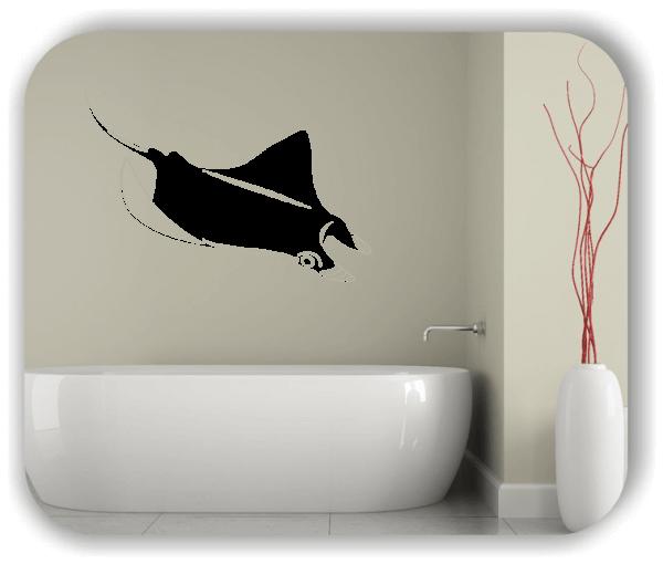 Wandtattoo - ab 50x34 cm - Rochen