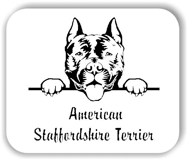 Wandtattoo - Hunde - American Staffordshire Terrier