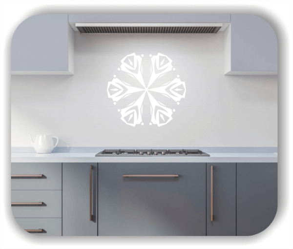 Wandtattoo - Snowflakes - ab 50x47 cm - Motiv 2519