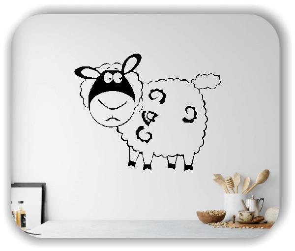 Wandtattoo - Liebes kleines Schaf