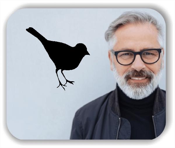 Wandtattoo - Kleiner Vogel