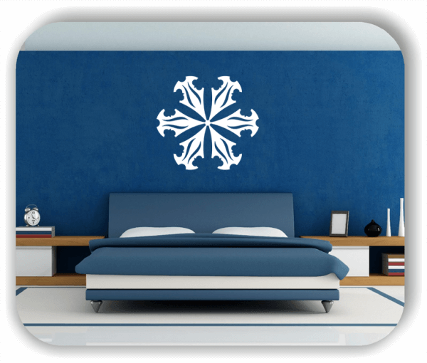 Wandtattoo - Snowflakes - ab 50x47 cm - Motiv 2512