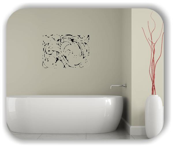 Wandtattoo - Natur Ornamente - ab 60 x 43 cm - Motiv 26