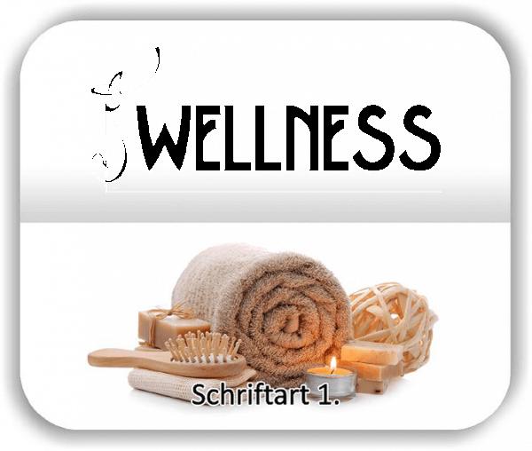 Wandtattoo - Wellness - Variante 1