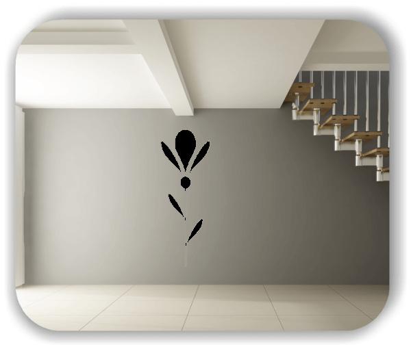 Wandtattoo - Schnittblumen - ab 18x50 cm - Motiv 9006