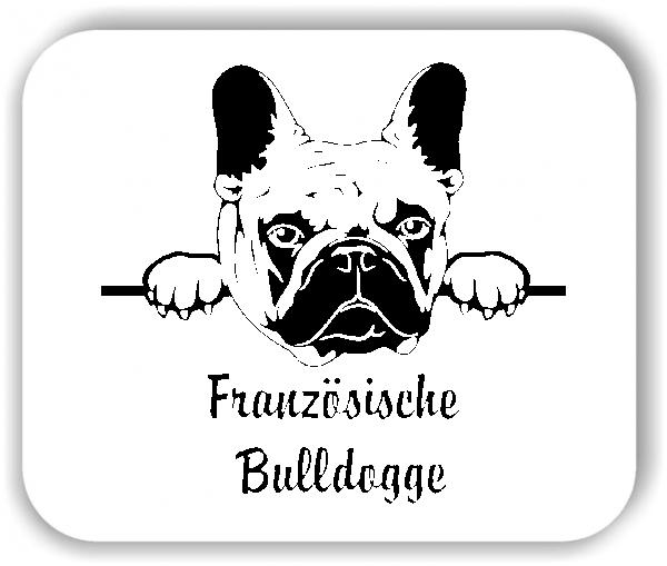 Wandtattoo - Hunde - Französische Bulldogge Variante 2