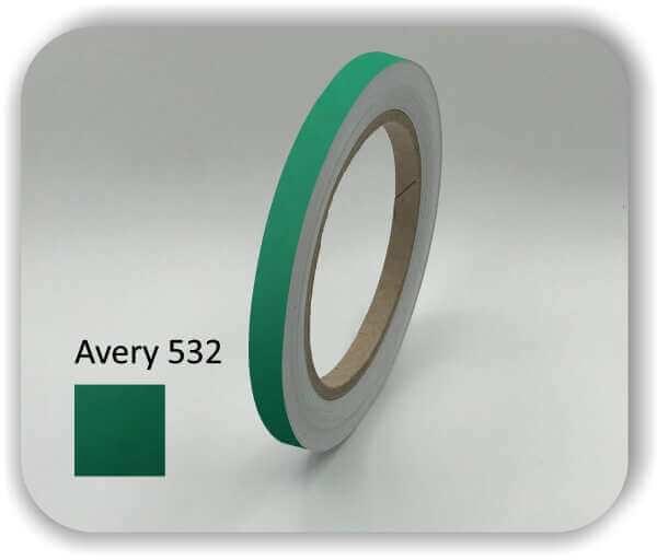 10 mm Zierstreifen Grün aus Hamburg für Auto, Wohnwagen & Boot