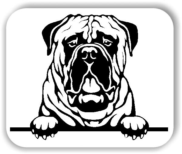 Wandtattoo - Hunde - Bullmastiff - ohne Rassename