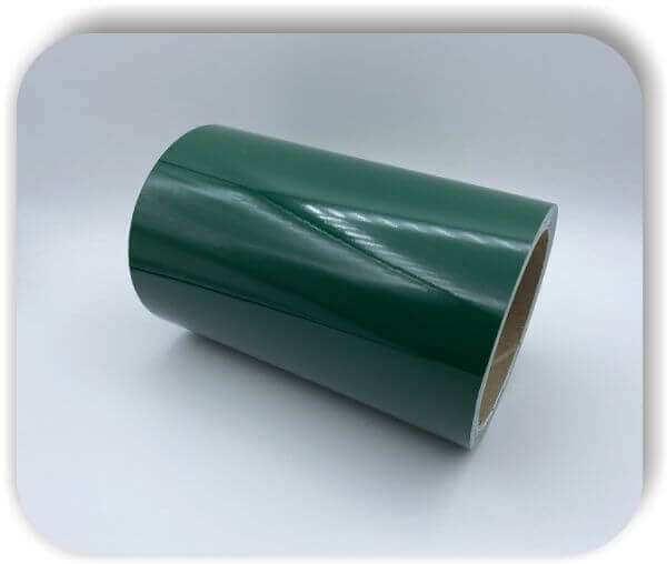 Boots Zierstreifen 150 mm Glanz Tannengrün Dekorstreifen