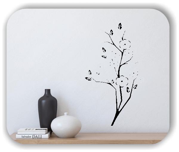 Wandtattoo - Japan Floral - ab 33x60 cm - Motiv 3239
