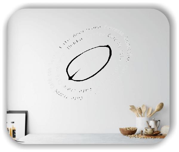 Wandtattoo - Küchenschnecke