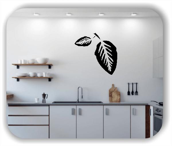 Wandtattoo - ab 50x50cm - Blätter - Motiv 8214