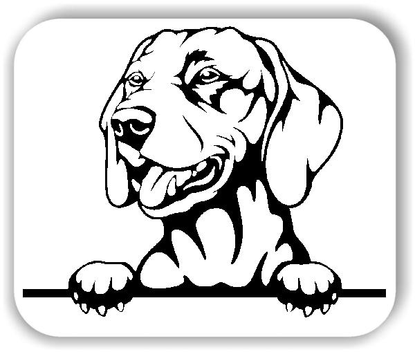 Wandtattoo - Hunde - Vizsla - ohne Rassename