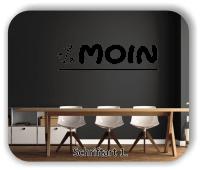 Wandtattoo - Moin
