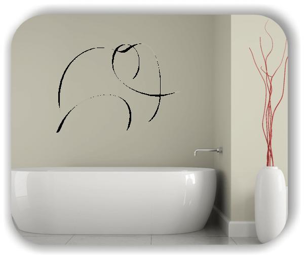 Wandtattoo - Tier Silhouette - ab 50x36 cm - Elefant