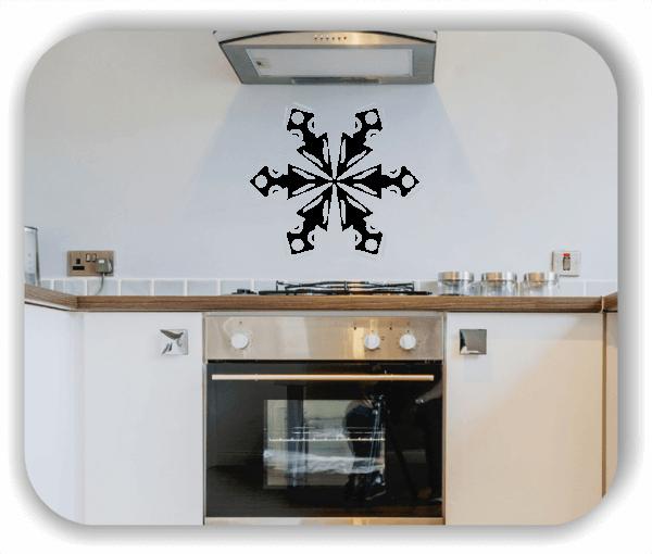 Wandtattoo - Snowflakes - ab 50x43 cm - Motiv 2534