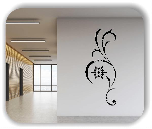 Wandtattoo - Ornament Renaissance - ab 20 x 50 cm - Motiv 01