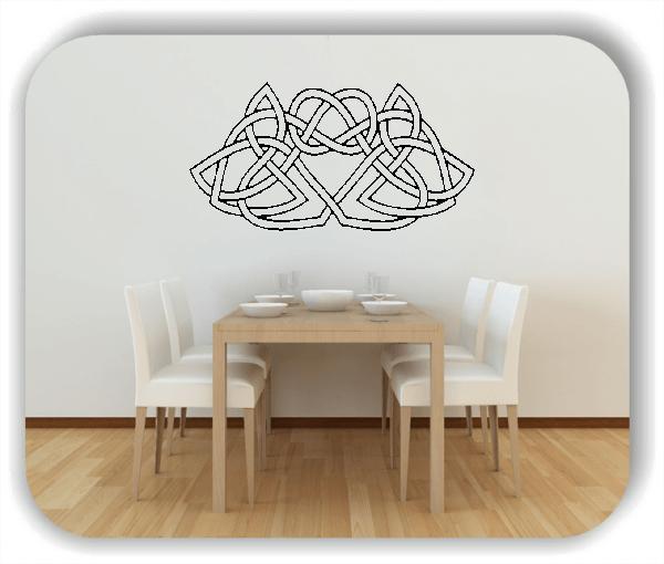 Wandtattoo - Geltic Design | Elbfolien.de