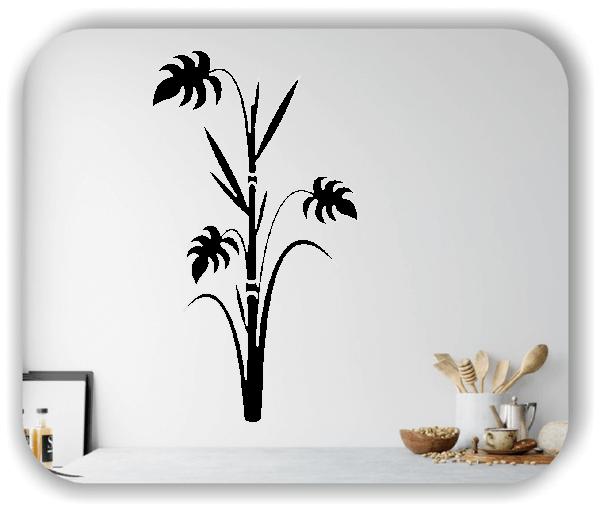 Wandtattoo - Japan Floral - ab 33x60 cm - Motiv 3241