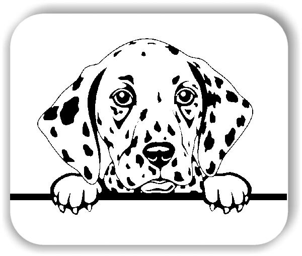 Wandtattoo - Hunde - Dalmatiner - ohne Rassename