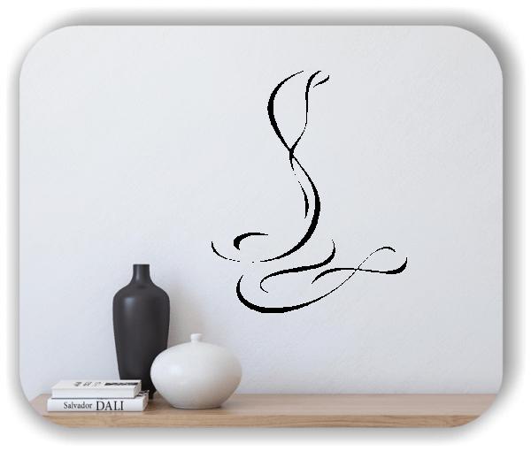 Wandtattoo - Tier Silhouette - ab 50x60 cm - Schlange