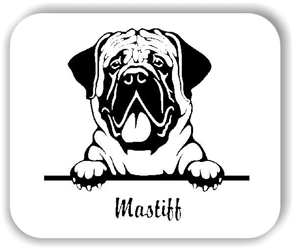 Wandtattoo - Hunde - Mastiff
