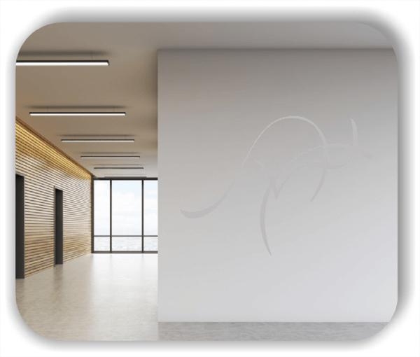 Wandtattoo - Tier Silhouette - ab 50x36 cm - Känguru