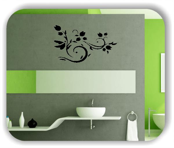 Wandtattoo - China Floral - ab 50x30 cm - Motiv 3123