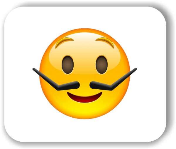 Strichgesicht - Glückliches Bartgesicht