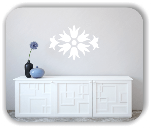 Wandtattoo - Florale Dingbats - ab 70x50 cm - Motiv - 4118