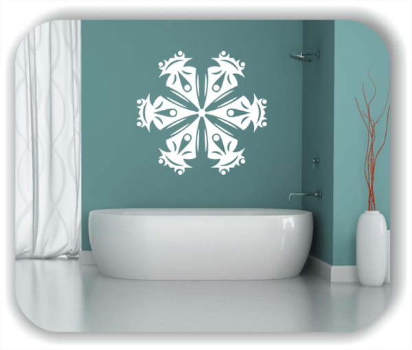 Wandtattoo - Snowflakes - ab 50x47 cm - Motiv 2514