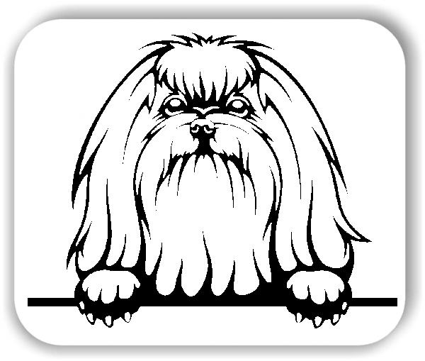 Wandtattoo - Hunde - Malteser 3 - ohne Rassename