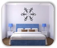 Wandtattoo - Snowflakes - ab 50x43 cm - Motiv 2548