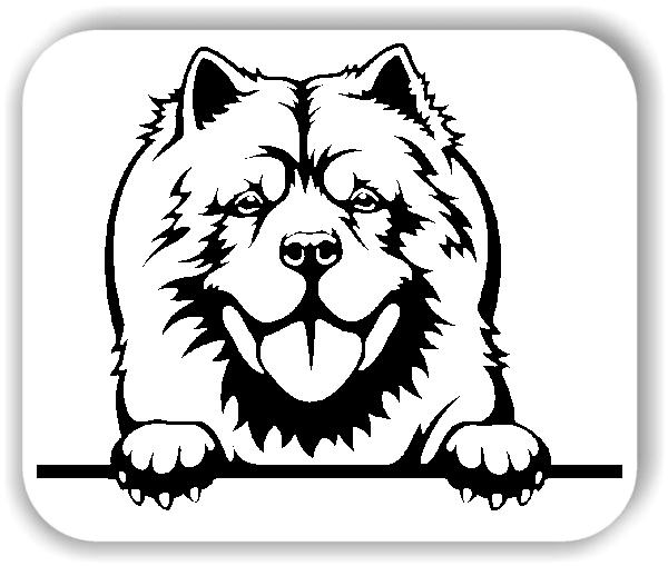 Wandtattoo - Hunde - Chow Chow - ohne Rassename