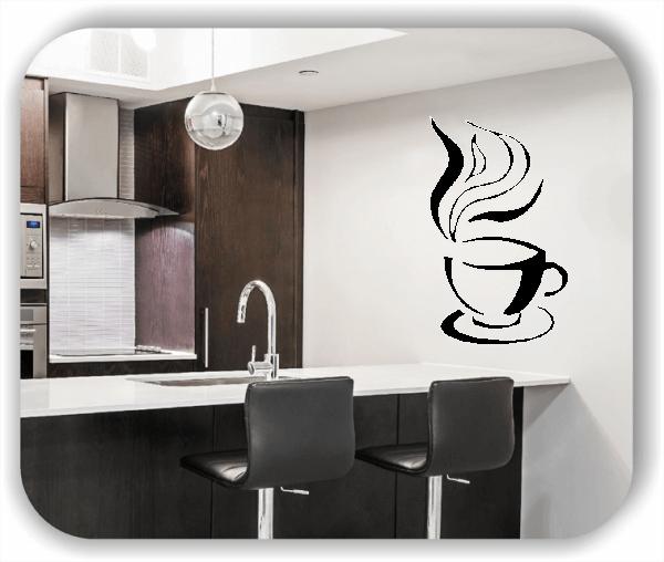 Wandtattoo - Kleine Kaffeetasse