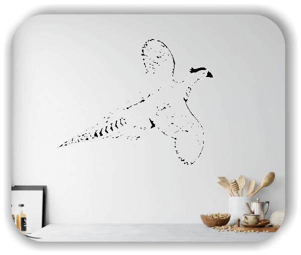 Wandtattoo - ab 50x40 cm - Fasan